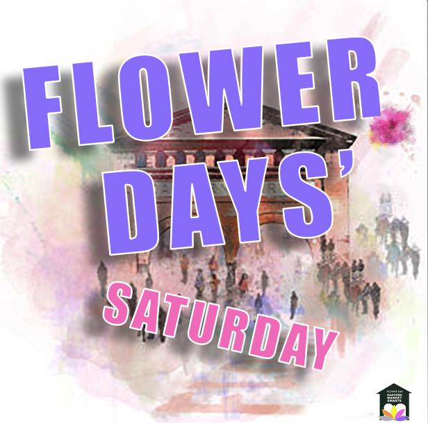 saturday flower days 2021